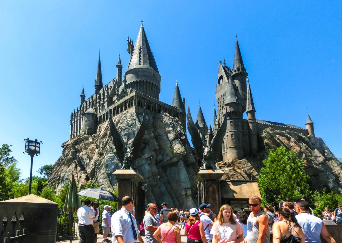 Harry Potter at Disney World Orlando Florida