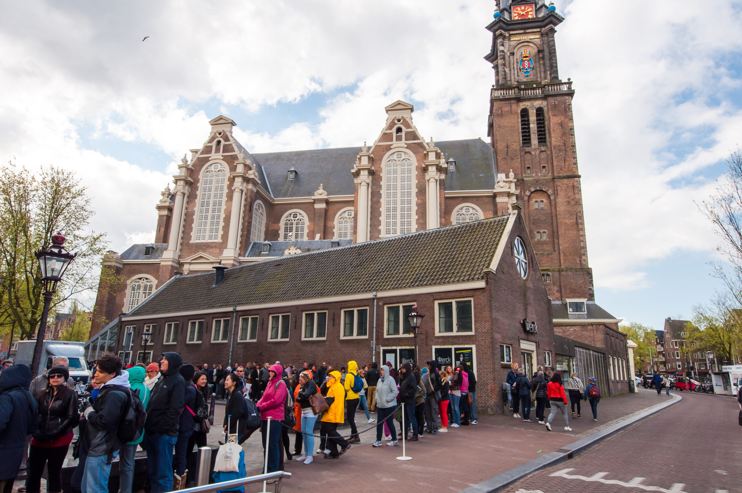 The Anne Frank House Museum is one of Amsterdam's most popular museums opened in 1960.
