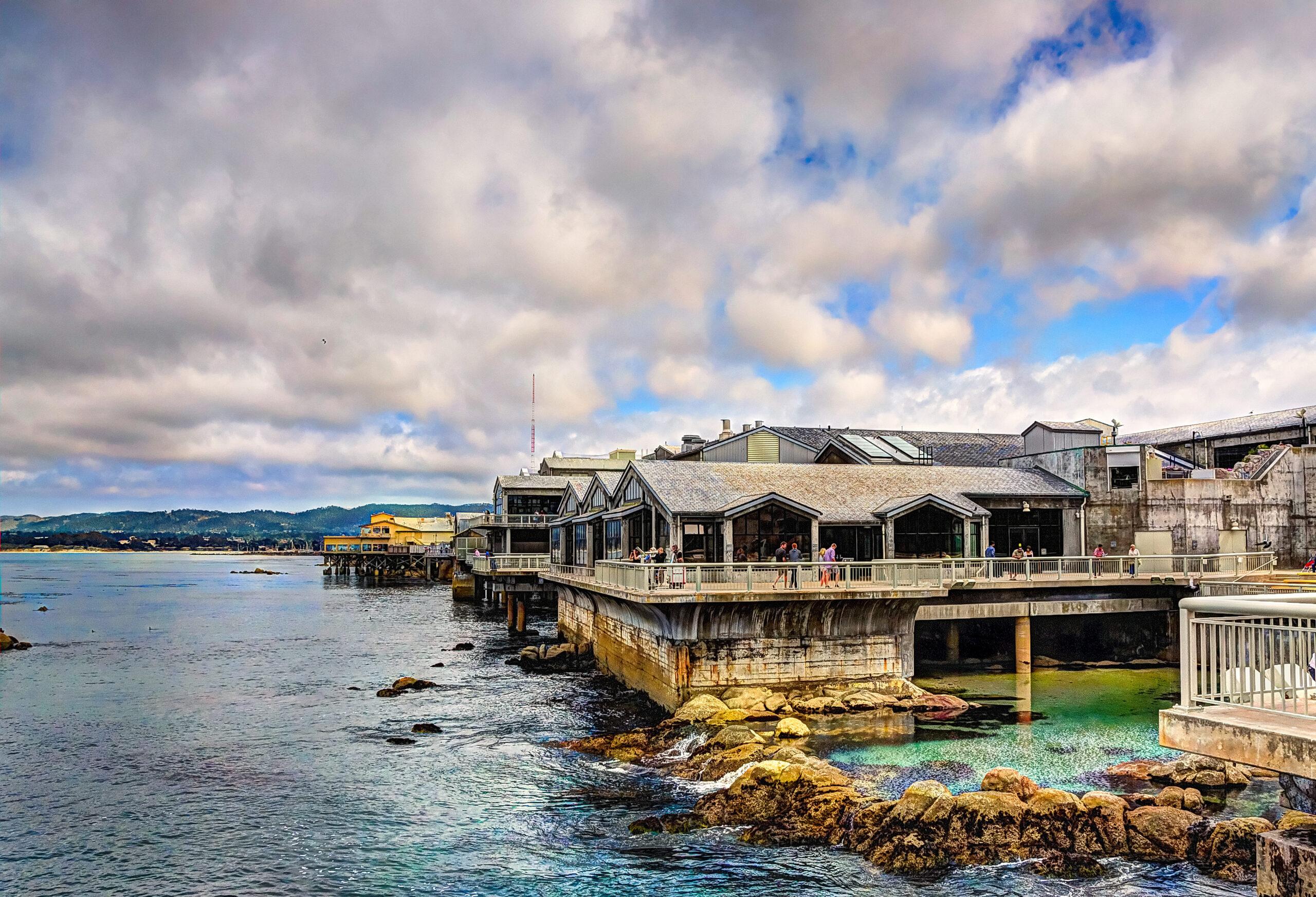 Monterey bay aquarium building.