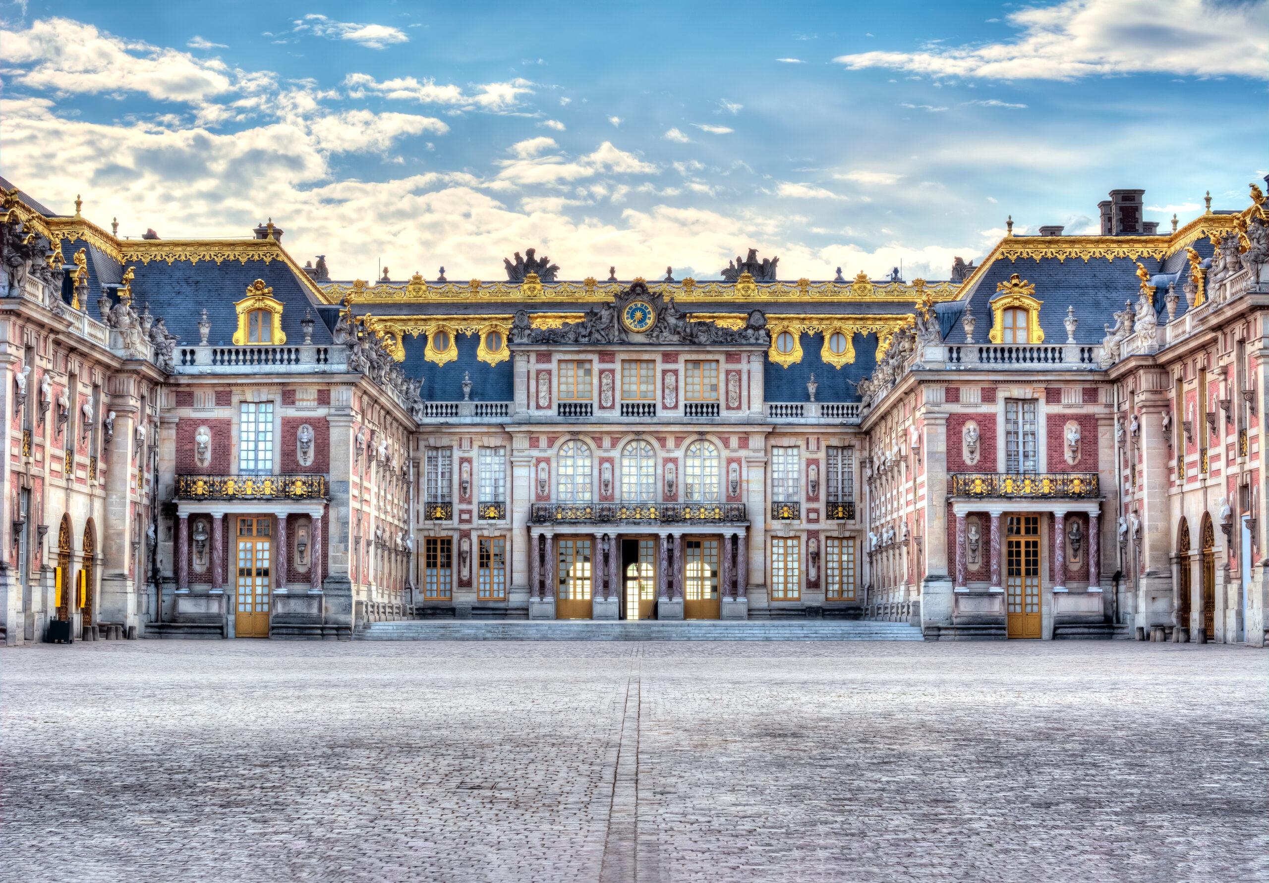 Virtual EuropeanCastle Tour of Versailles palace, Paris suburbs, France.