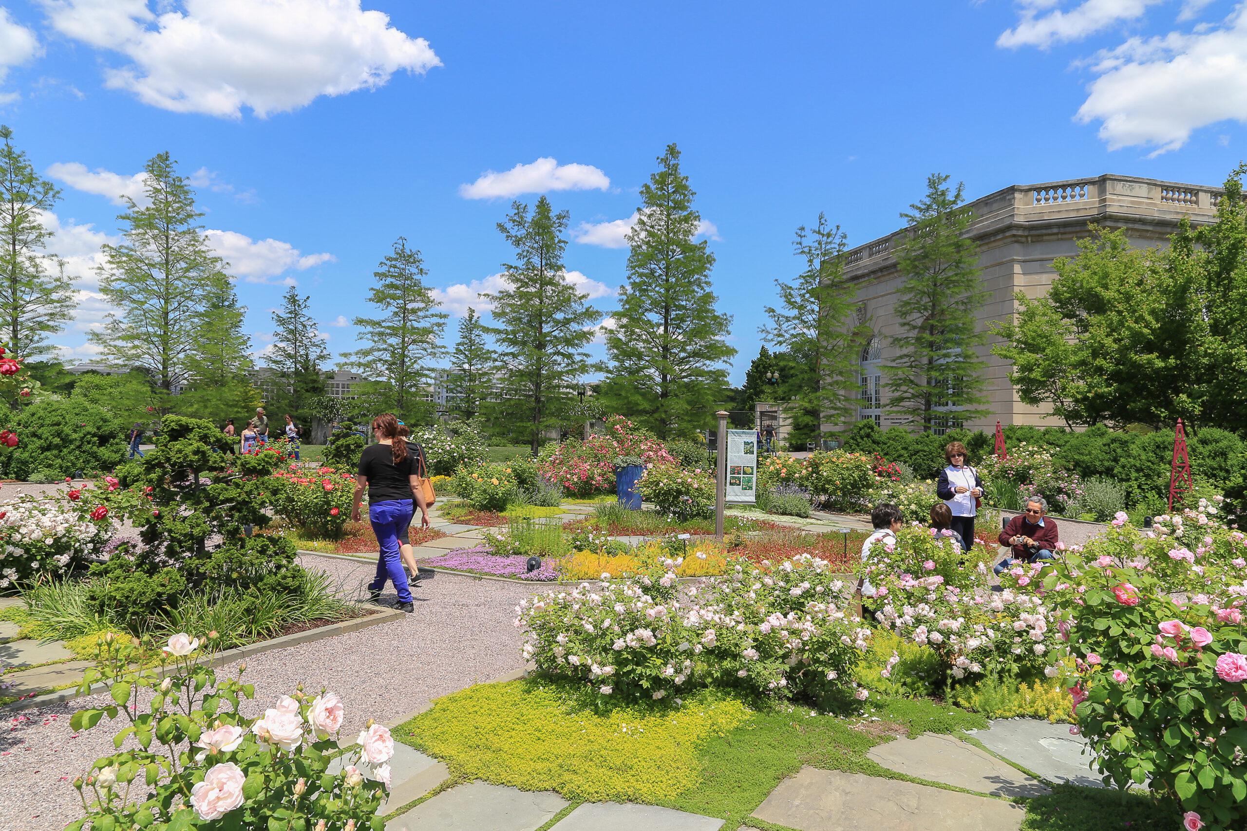 The National US Botanical Gardens in Washington, DC, USA.