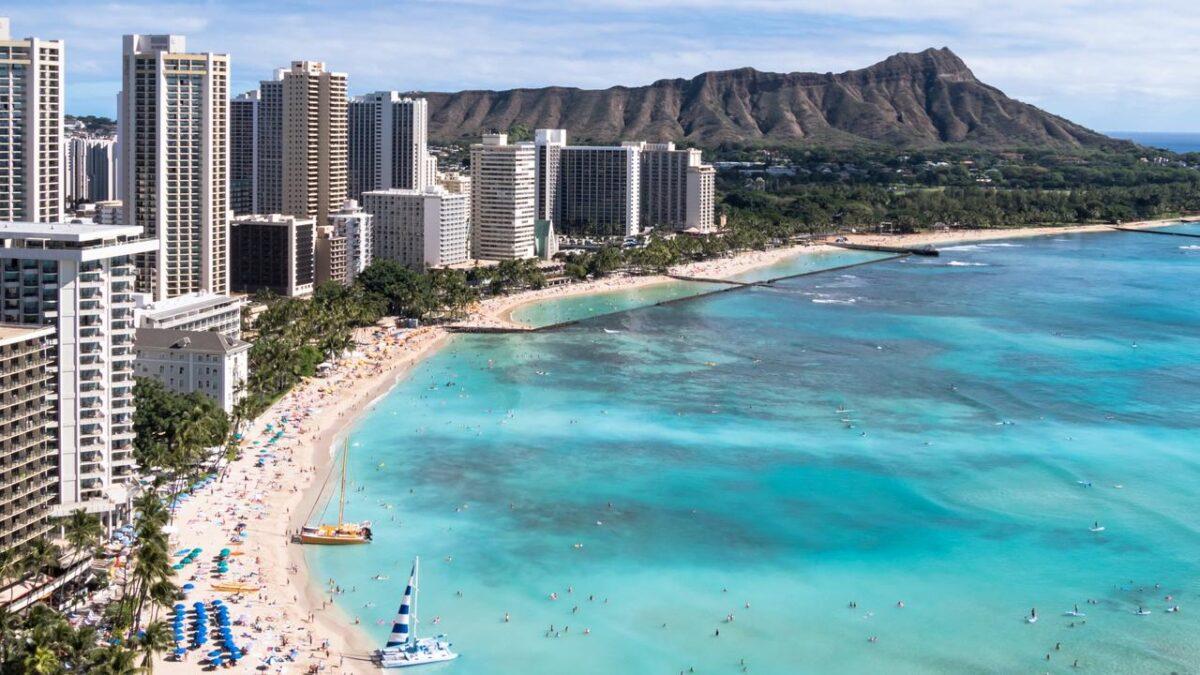Visit Waikiki Beach, Hawaii