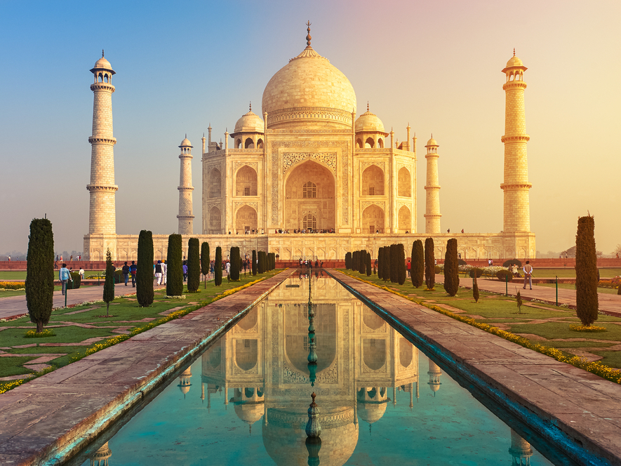 Virtual Tours of Taj Mahal India