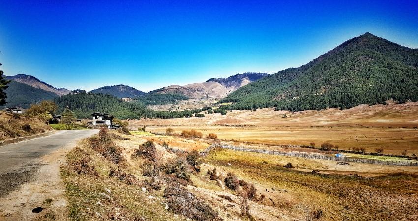 Amazing Phobjikha Valley of Bhutan