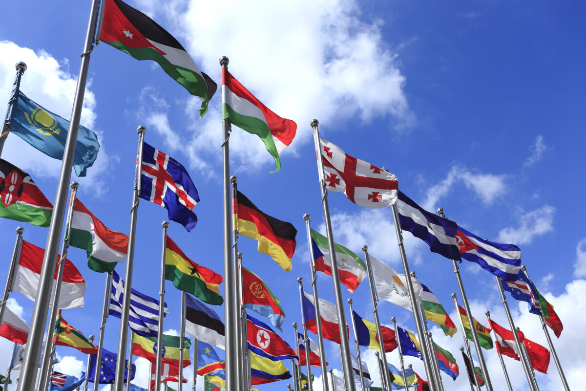 Flags of each country in the world