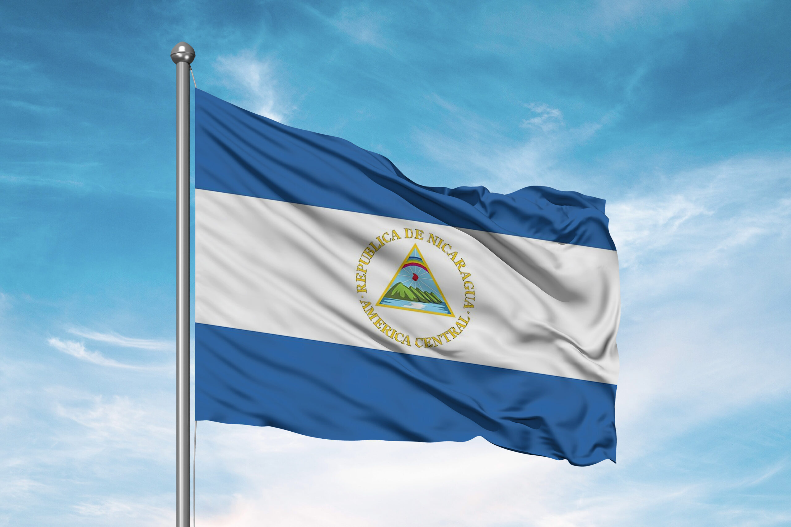 Quiz About Flags: The flag of Nicaragua