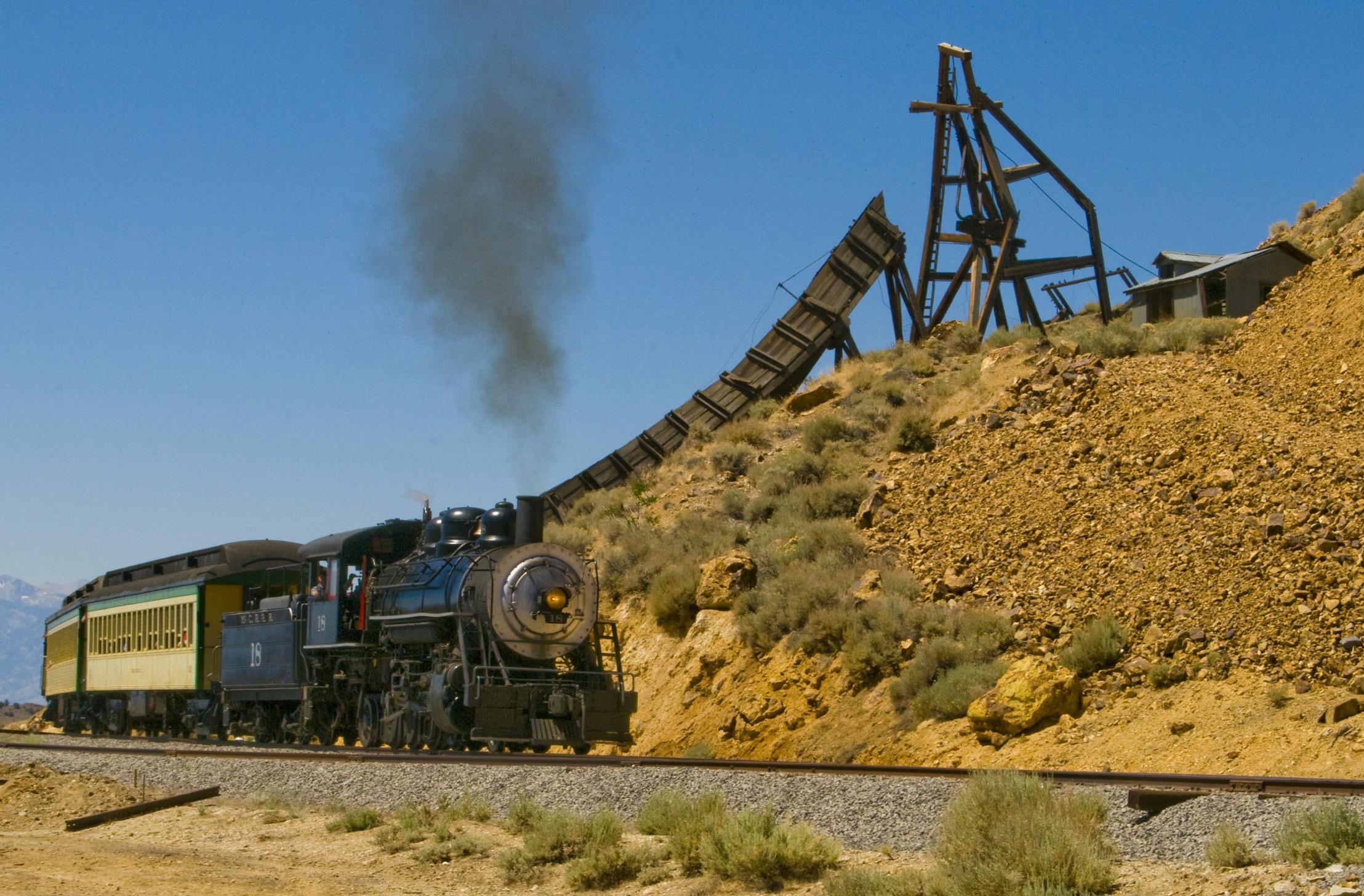 Virginia and Truckee Railroad, Nevada